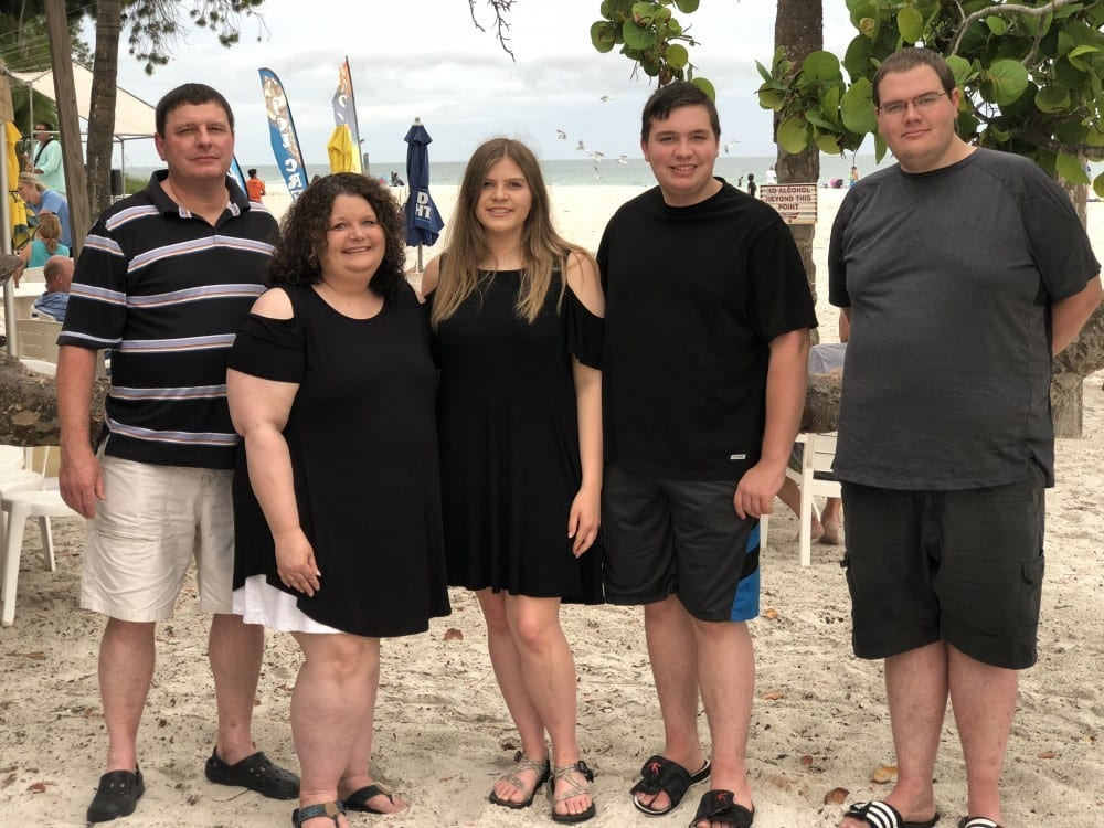 Our Family - Anna Marie Island, Fl