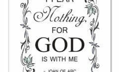 FEAR NOT ** I HAVE OVER COME WORLD
