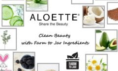 ALOETTE ** ALL NATURAL BEAUTY PRODUCTS